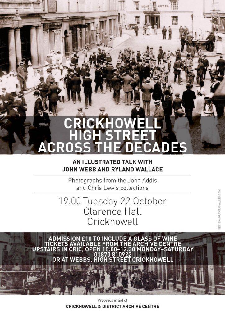 Crickhowell High St poster
